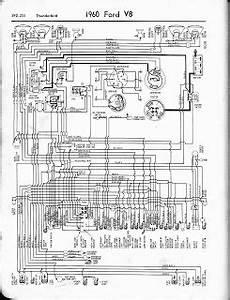 Free Auto Wiring Diagram  1960 Ford V8 Thunderbird Wiring