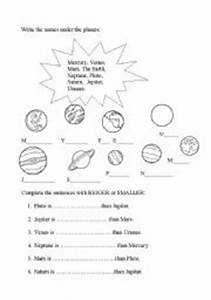 planets - worksheet by Esther62