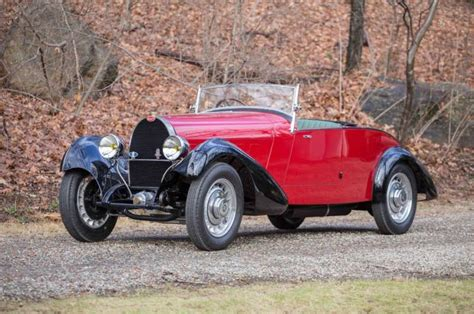 Early Bugatti Models by Bugatti Type 49 At 2017 Bonhams Greenwich Auction