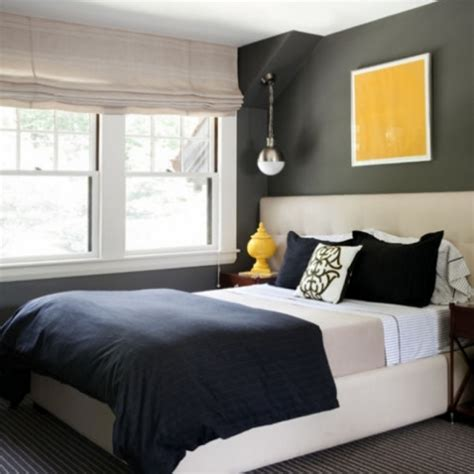 Best Colors For Small Bedroom Dark Color Scheme Gray Paint