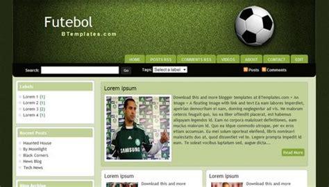 Templates 3 Columns Hola by Futebol Template Btemplates