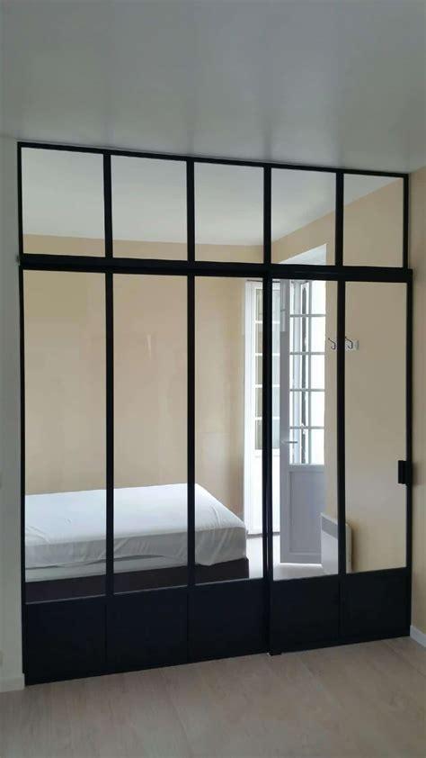 chambre verriere verrière pour séparer chambre et salon divinox