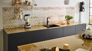Arbeitsplatte Küche Verlängern : kern design innenarchitektur einrichtungsatelier k che goldene arbeitsplatte ~ Markanthonyermac.com Haus und Dekorationen