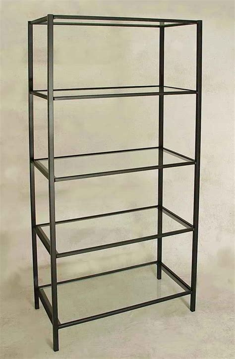 Glass Etagere Display by Gift Store Display Fixtures Racks