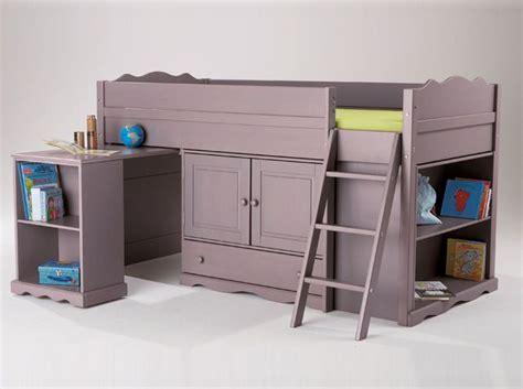 tendance le lit mezzanine projet mini maison chambre