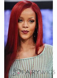 Long Red Lace Front Wig