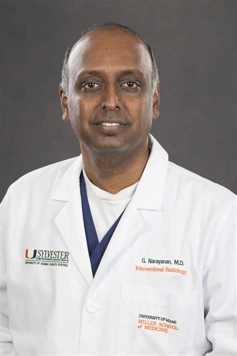 university  miami professor govindarajan narayanan md