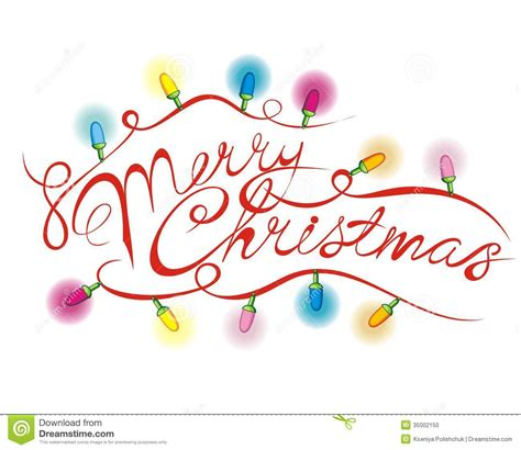 merry christmas lettering stock vector illustration of design 35002150