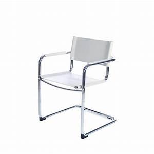 Chaise Design Blanche : chaise de bureau design blanche ~ Teatrodelosmanantiales.com Idées de Décoration
