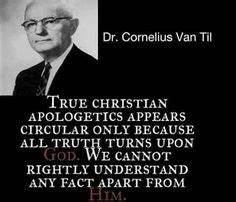 christian quotes | Cornelius Van Til quotes ...