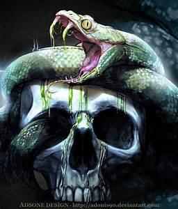 Skulls Snake by Adonis90 on DeviantArt