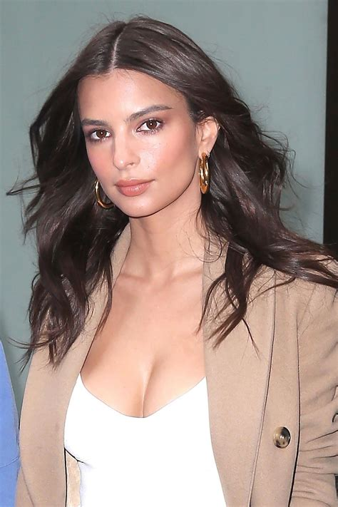 Born in london and raised in san diego. Emily Ratajkowski at Today Show in NYC 04/10/2018