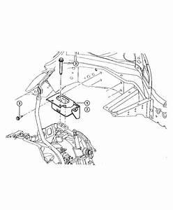 Chrysler Pt Cruiser Bracket  Engine Mount  Left Side  Transaxle Side Left