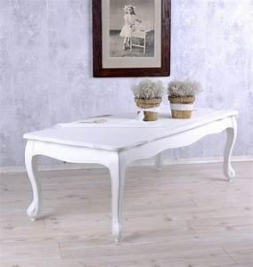 Couchtisch Weiß Landhausstil : wohnzimmertisch weiss tisch landhausstil couchtisch shabby chic ~ Sanjose-hotels-ca.com Haus und Dekorationen