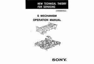 Sony S Mechanism