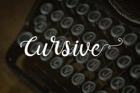 great  cursive fonts   commercial projects