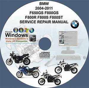 Bmw F650gs F800gs F800r F800s F800st Service Repair Manual