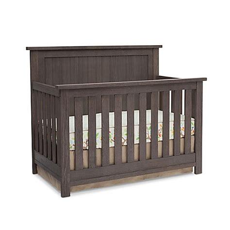 serta northbrook 4 in 1 convertible crib in rustic grey buybuy baby
