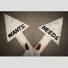 Wants Vs Needs Priorities In Your Digital Marketing  Rocks Digital