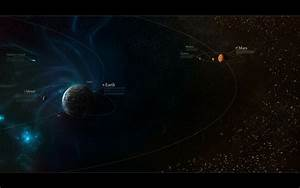 outer space galaxies solar system planets mars moon earth ...