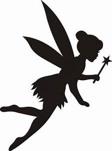 Reusable Mylar Tinkerbell Stencil Template for Crafting