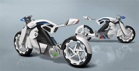 Bmw Electric Motorcycle by Wordlesstech Electric Bmw Ir Motorcycle Concept