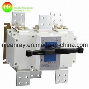 China Type Of Isolator Switch Manual Switch