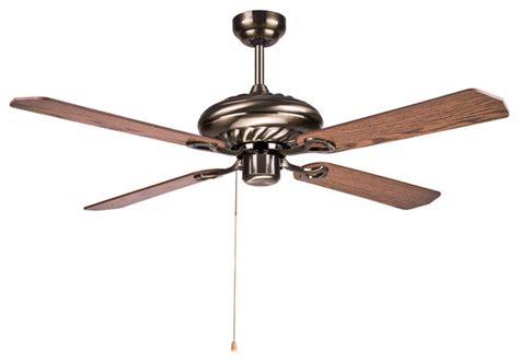 hton bay wood ceiling fan light 52 quot for living room