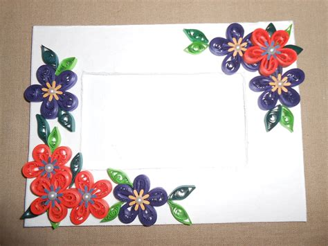 How To Make Beautiful Quilling Photo Frame Youtube