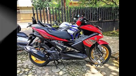 Modifikasi Yamaha Aerox 2017 by Gambar Modifikasi Motor Aerox Modifikasi Yamah Nmax