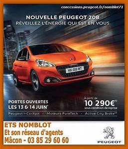 Peugeot Nomblot Macon : m con infos le web journal du m connais m con la nouvelle peugeot 208 restyl e ~ Dallasstarsshop.com Idées de Décoration