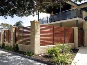 Smartwood Slat Fence Fencing 4 Perth Modern Stylish Fence Fencing4perth The Dramatic Fence Designs For Your Front Yard