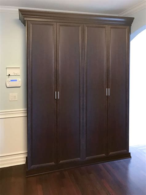 traditional style tuscany closet doors  drawers