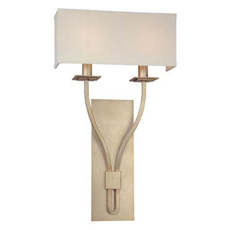 sconces silver leaf two light wall sconce troy 2 light