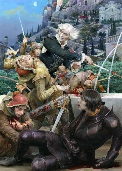 Gordeev Denis Illustrations Witcher Contempt Books Livejournal