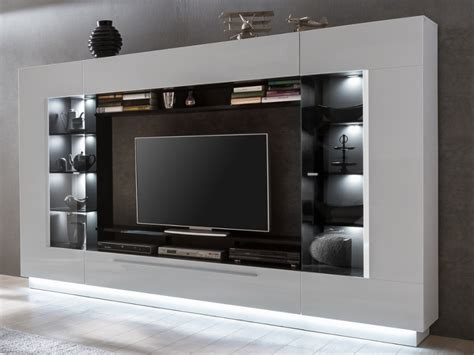Tv Möbel Wand tv m 246 bel tv wand mit stauraum led beleuchtung kaufen