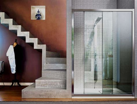 cabine doccia vismara vismaravetro serie 6000 cabina doccia con anta scorrevole