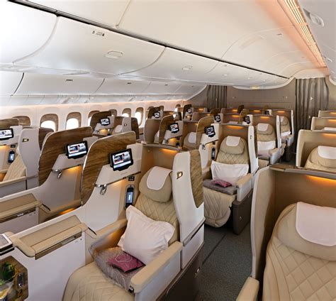 Business Class Cabin Emirates Emirates Unveils Brand New Cabins For Its Boeing 777 Fleet