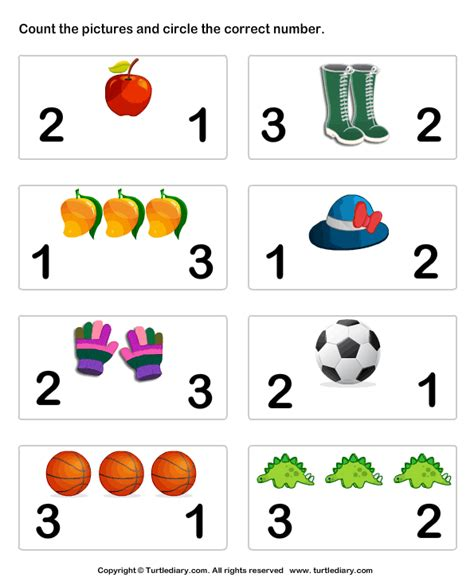 pre k worksheets counting preschool counting worksheets