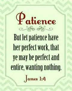 Bible Scriptures About Patience