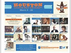 2015 RodeoHouston Entertainer Lineup Announced Pearland