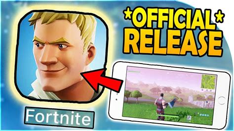 fortnite mobile official release date  news