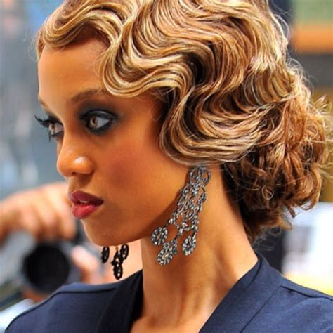 Finger Wave Updo Hairstyles by 20 Top Flapper Finger Wave Hairstyle Ideas