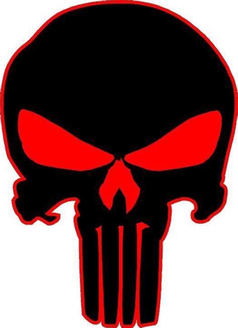 Punisher Skull Vinyl Decal Sticker Hood Vehicle Window