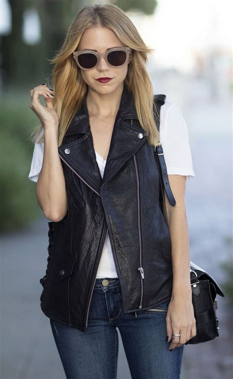 Leather Pieces To Wear For Fall Glam Radar
