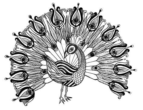 Peacock Mandala By Sarahmaedesigns On Deviantart