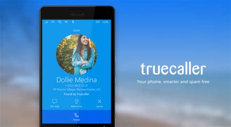 truecaller adds offline caller id feature for windows 10 mobile