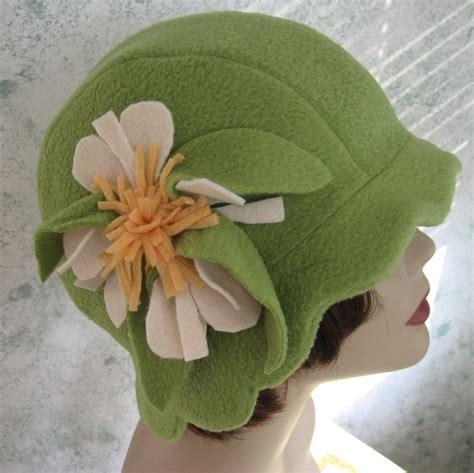 womens hat pattern flapper hat  scalloped brim  lrg