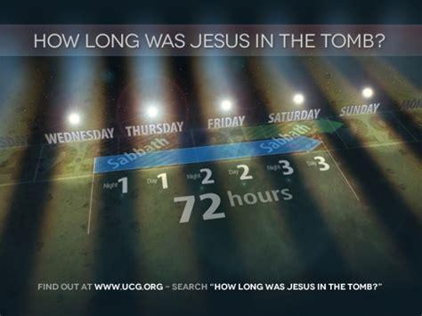 jesus wasnt crucified  friday  resurrected  sunday