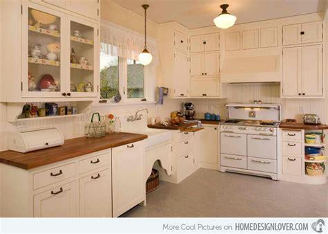 15 Wonderfully Made Vintage Kitchen Designs  Fox Home Design